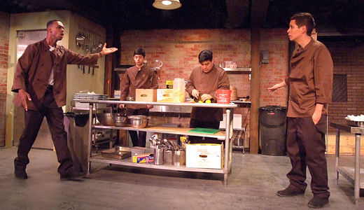 Stunning theatre about super-exploited restaurant workers