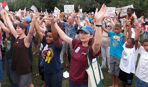 """North Carolina crowd roars at governor: """"Wrong! Wrong! Wrong!!"""""""