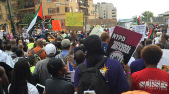 Community and labor stand together in peaceful cry for justice for Eric Garner