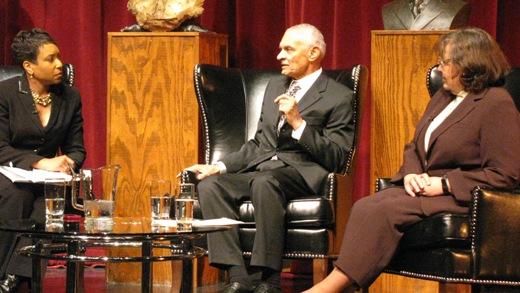 Civil rights legends Nash, Vivian urge continued resistance
