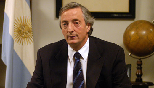 Former president of Argentina Nestor Kirchner dies