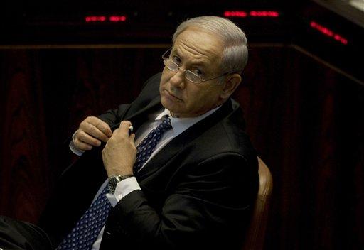 Netanyahu throws new monkey wrench into peace talks