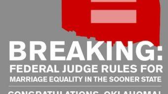Oklahoma LGBT activists with a potential big win
