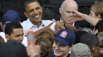 Great day for labor: Obama goes to Milwaukee