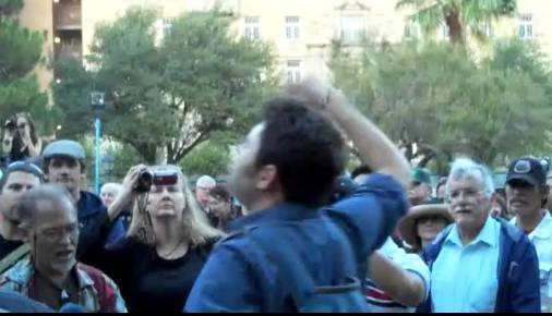 Occupy El Paso launched on Monday