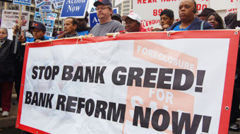 Message to banks: 'Time to bail us out'