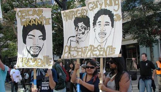 Verdict in Oscar Grant murder case met with protests