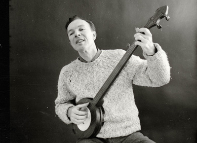 Pete Seeger on youth, careers, and social movements