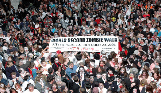 Progressives prepare for zombie doomsday