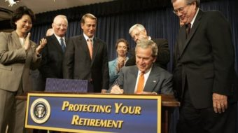 Task force confronts at-risk pensions for 10 million workers