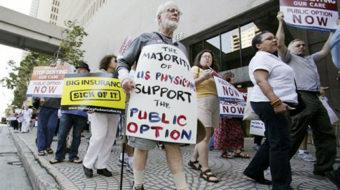 Health care reform poised to pass, 41 senators support public option