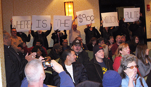 Where are the jobs? Angry workers put Pulte CEO on the run