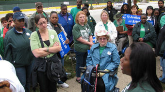 Resurrection Health Care workers vow: 'We'll win our union'