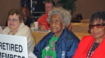 Retired, but fighting: ARA stands up for Social Security (video)