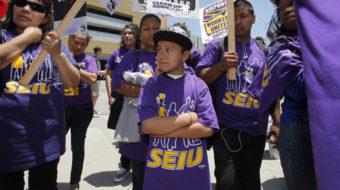 Texas janitors on strike