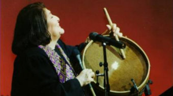 A U.S. musician pays tribute to Mercedes Sosa