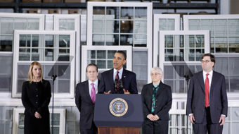 Obama, triangulation and what's our job for 2012