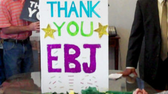 Activists say 'thanks' for health care reform