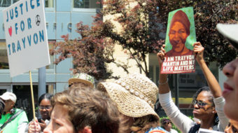"""Oakland's Trayvon Martin rally: """"Keep fighting"""" for justice"""