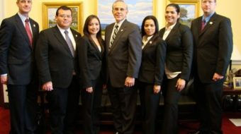 "Latino congressmen confront ""Go back to Mexico"""
