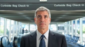 George Clooney and we go flying