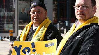 Vale Inco declares war on striking steelworkers