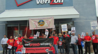 Verizon strike attracts support in Southern California