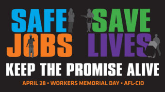 Union leaders, Labor Dept. honor the fallen on Workers Memorial Day
