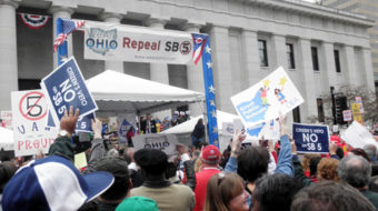 Ten thousand Ohioans kick off fight to repeal Senate Bill 5