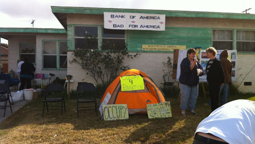 Bank of America forecloses on Whittier home, neighbors rally to fight it (video)