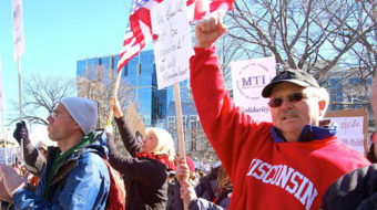 Reflections on Friday's protest in Madison