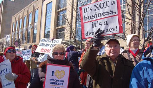 Wisconsin recall drive is ahead of schedule