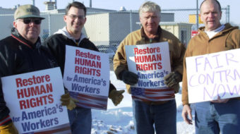 Worker rights are key to economic recovery, union leaders say