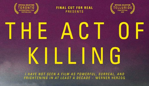 """""""Act of Killing"""" disturbingly depicts banality of evil"""