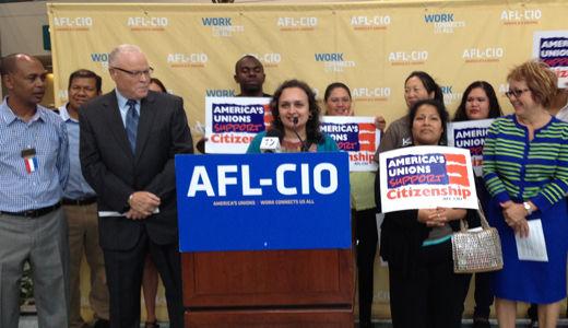 AFL-CIO warns Congress on immigration: no back burner