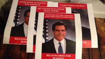 Florida magnate threatens firings if Obama wins