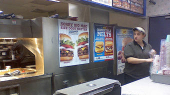 Burger King worker is only a pawn in their game