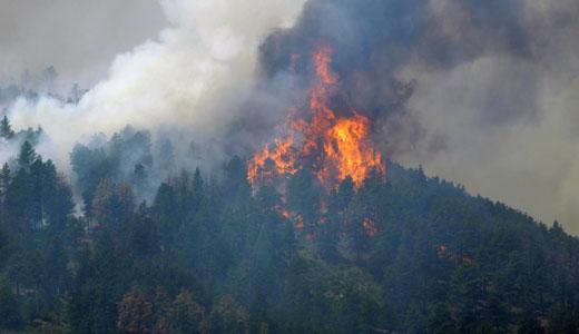In Western U.S., raging wildfires will get worse