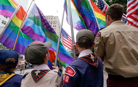 Boy Scouts of America to allow gay adult leaders