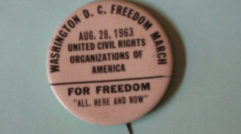 March on Washington – right place to be in 1963 and 2013