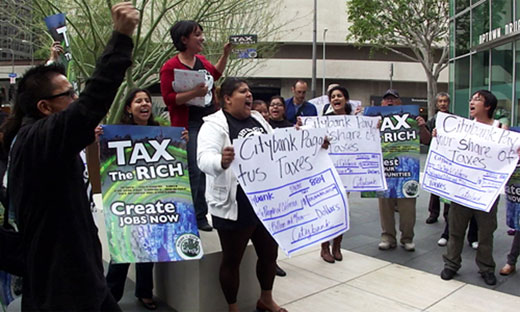 Corporations pay zero state taxes