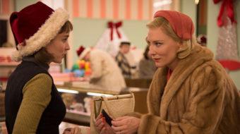 """Lesbian-themed film """"Carol"""" in the era of conformity"""