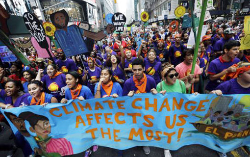 New York City climate change activists strategize for future