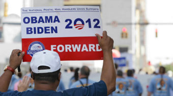 DNC union delegates lobby colleagues for workers rights