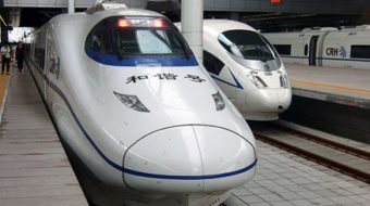 Taking China's bullet train with slow clock