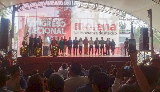 Mexico's Morena political party sets course for 2018