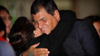Ecuadorian President Correa gains second term, scores big win