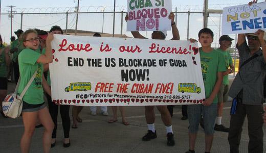 At Maine-Canada border, anti-Cuba blockade is broken