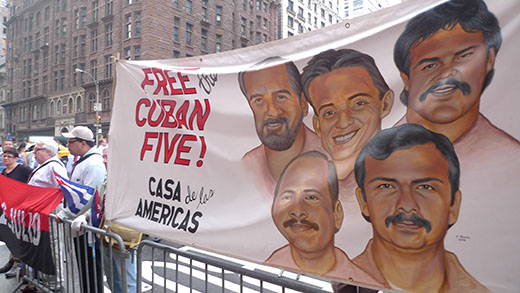 All out for five-day push to free Cuban 5