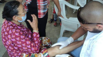 Cuban workers caring for Nepal quake victims